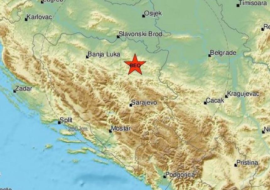 Zemljotres jačine 2,6 pogodio Lukavac