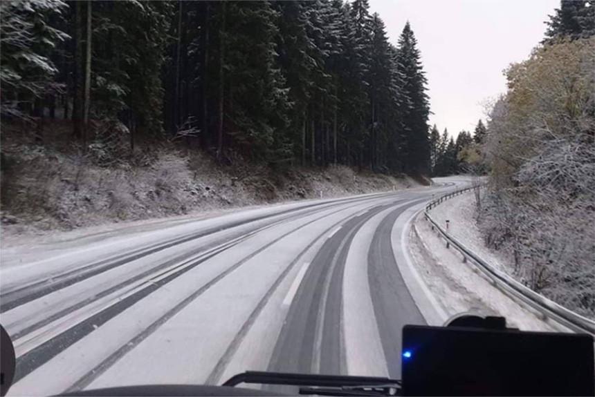 Naoblačenje sa kišom i snijegom u Srpskoj