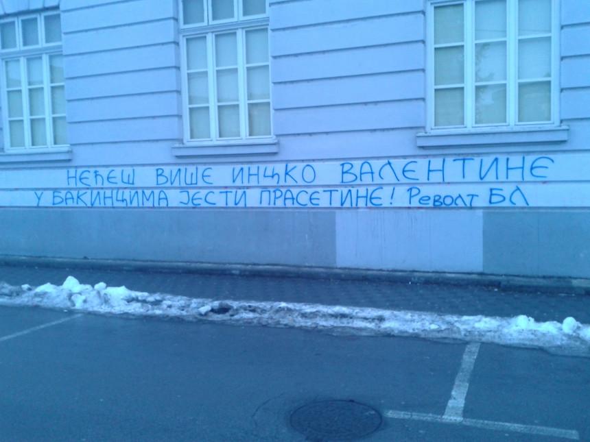 "Revolt grafitom ""pozdravio"" i Incka"