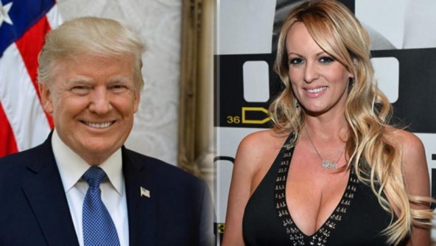 Trampova afera s porno glumicom