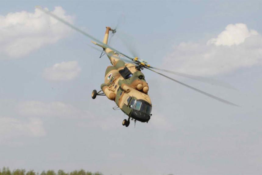 Пао хеликоптер, повријеђено 4