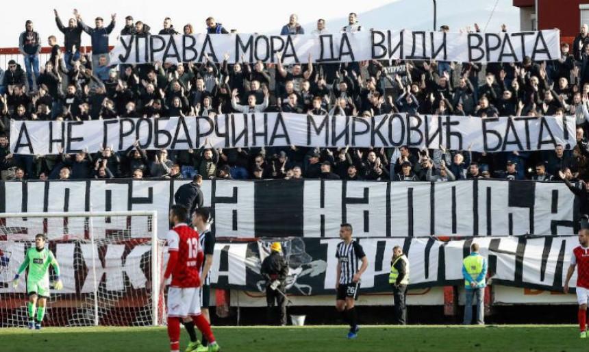"""Šta """"Grobari"""" misle o odlasku Mirkovića?"""