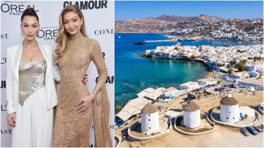 Grčka:opljačkane poznate manekenke