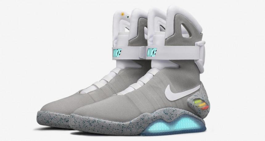 Samovezujuće patike Nike Mag na aukciji prodate za 104.000 dolara