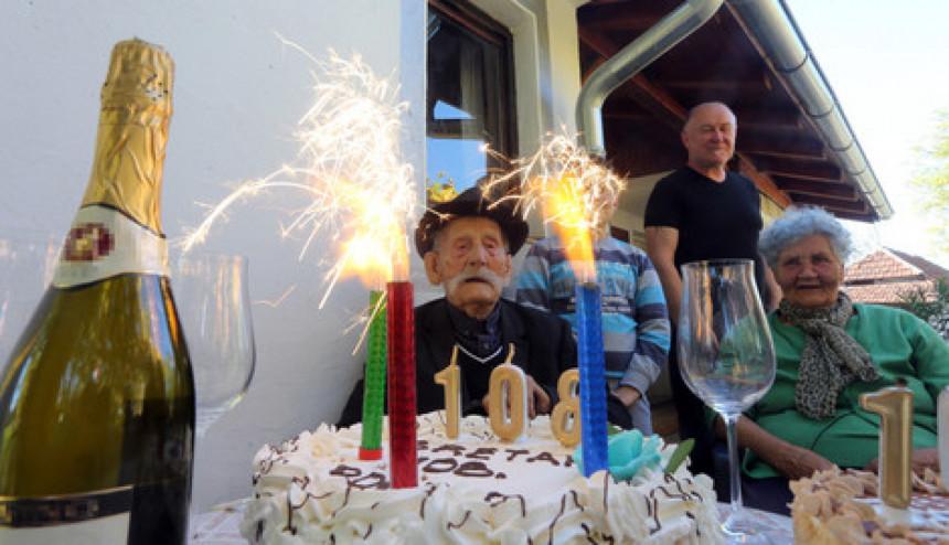 Starac proslavio 108. rođendan