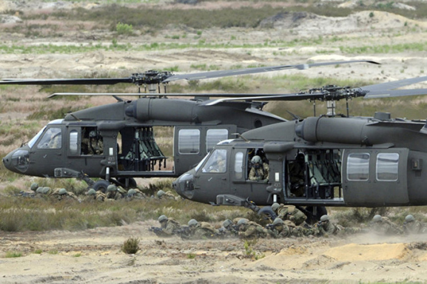 U Njemačku stigli američki helikopteri