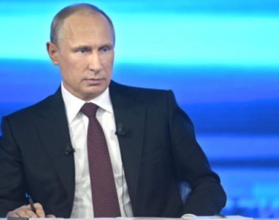 """""""Direktna linija"""" sa Vladimirom Putinom"""