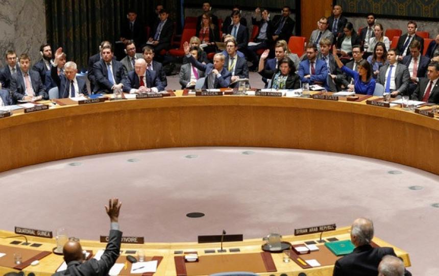 Odbijena ruska rezolucija o Siriji