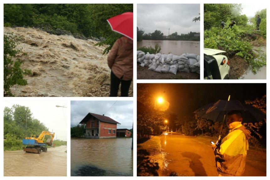 Poplave u BiH: IZ MINUTA U MINUT