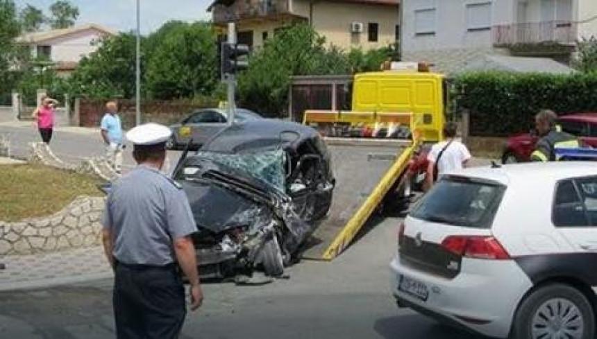 U nesreći teško povrijeđena žena