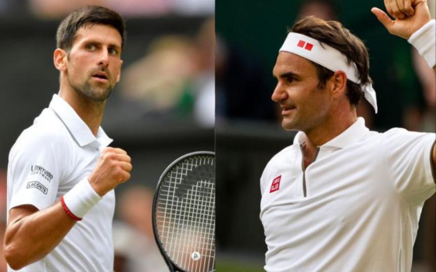 Teniski spektakl: Đoković-Federer