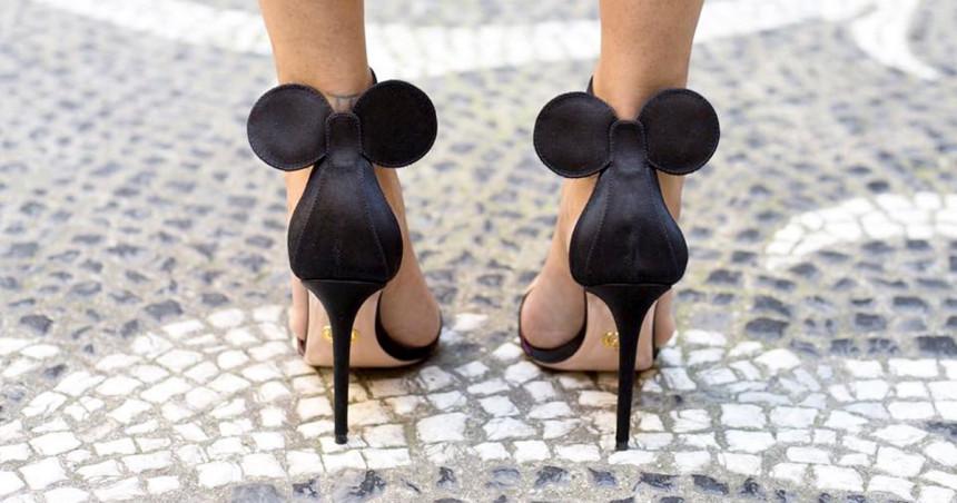 Uši Mini Maus na obući!