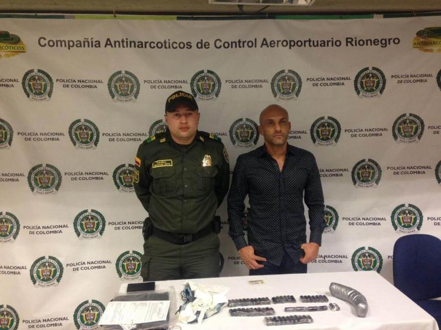 Bivši reprezentativac nosio kilogram kokaina!