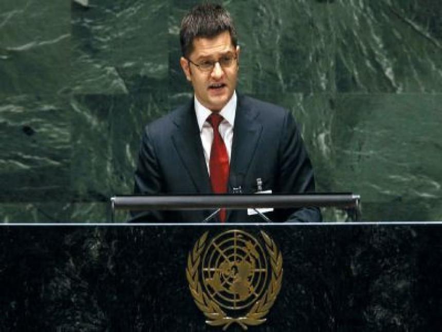 Jeremić kandidat Srbije za šefa UN-a