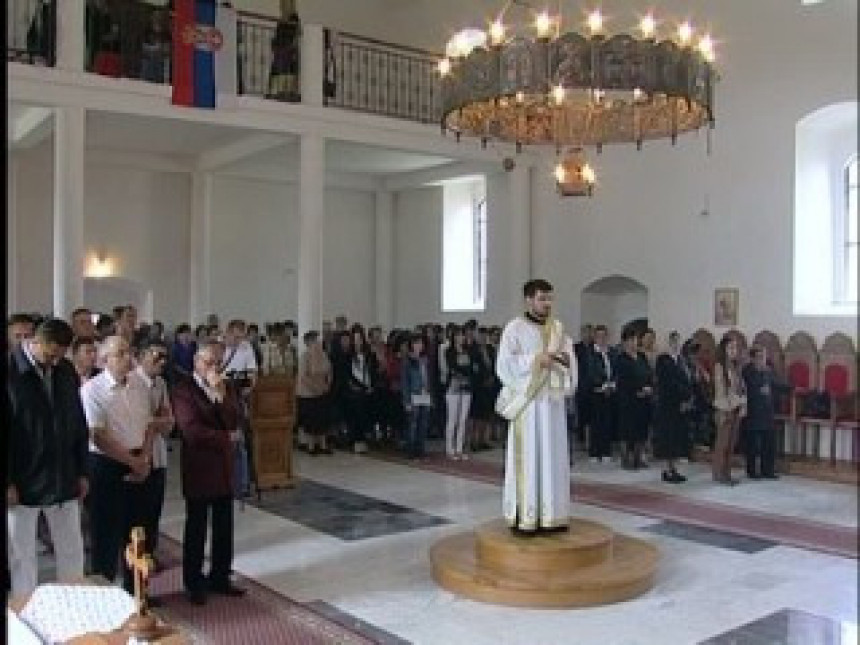 Proslavljena slava hrama na Nišićima (VIDEO)