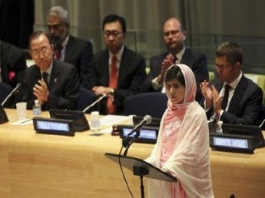 Malala proslavila 16. rođendan u UN (VIDEO)