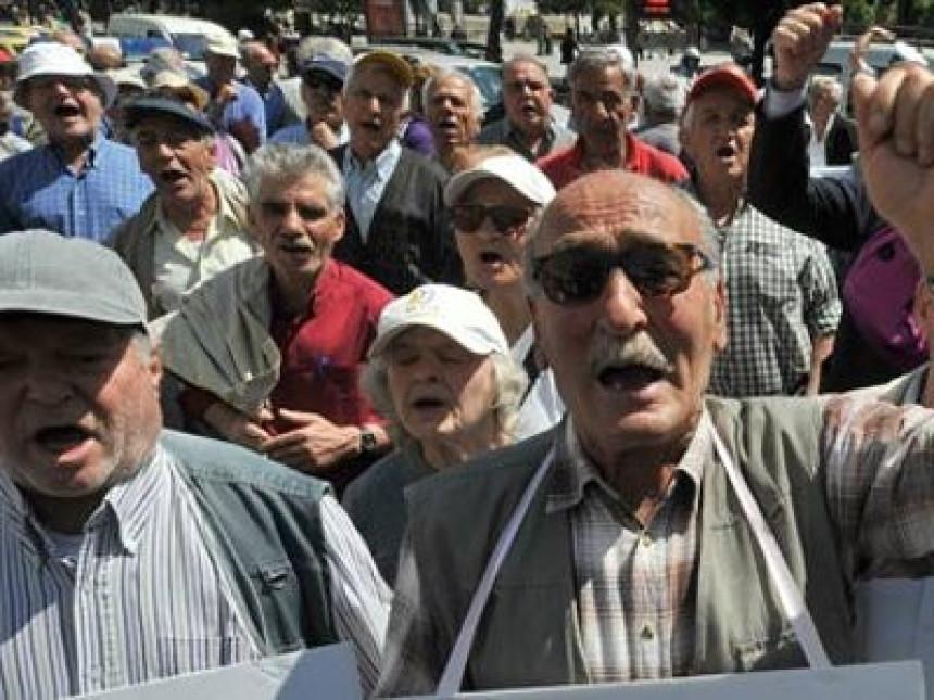 Na ivici gladi više od 400.000 penzionera