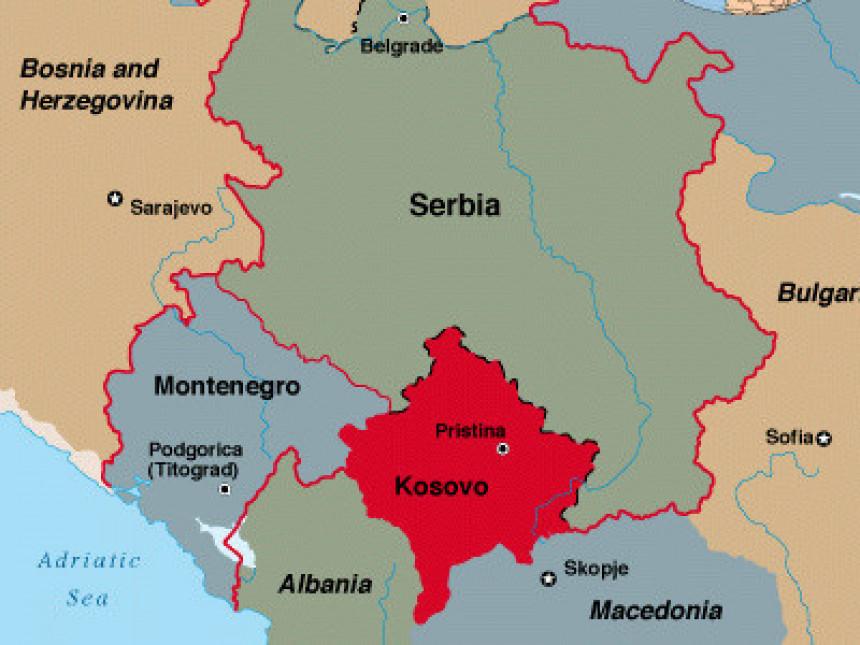 Karta Srbije Bez Kosova Radio Televizija Bn