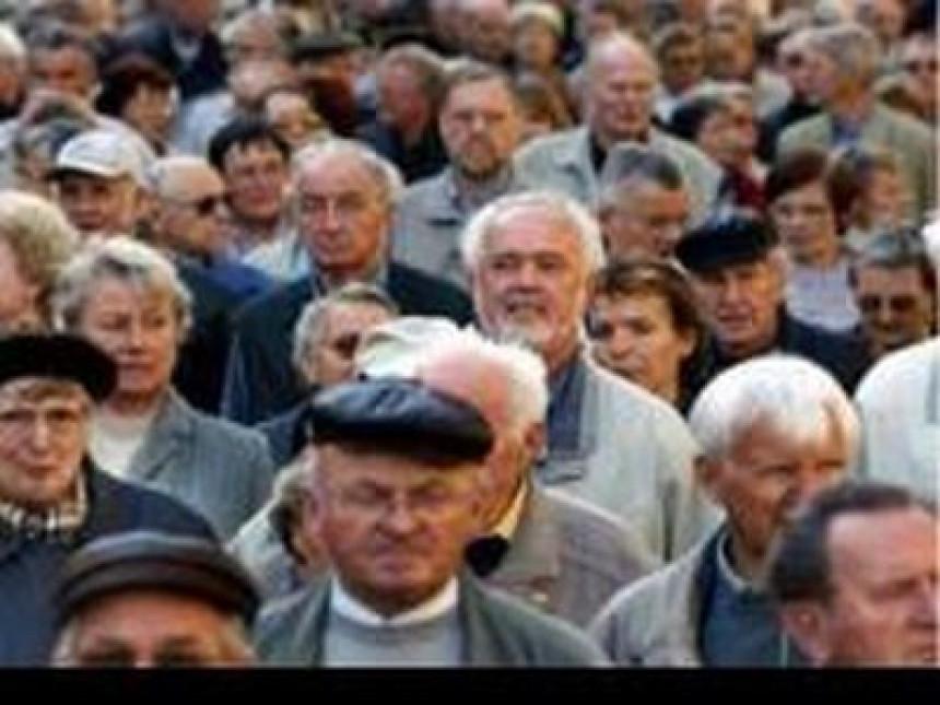 Na protest u Sarajevo dolazi 10.000 penzionera
