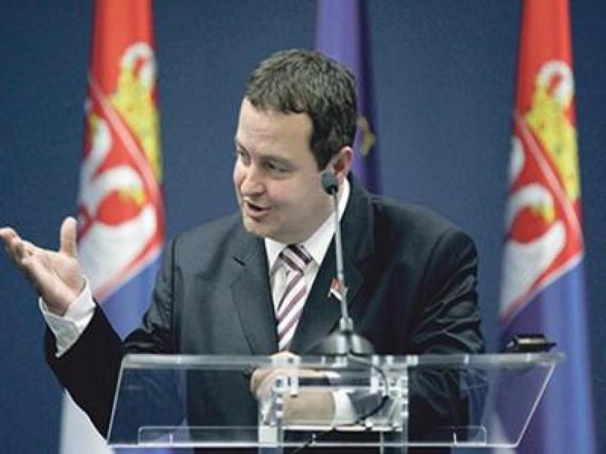 Dačić: Na glasačkom listiću logo CIK Kosova?