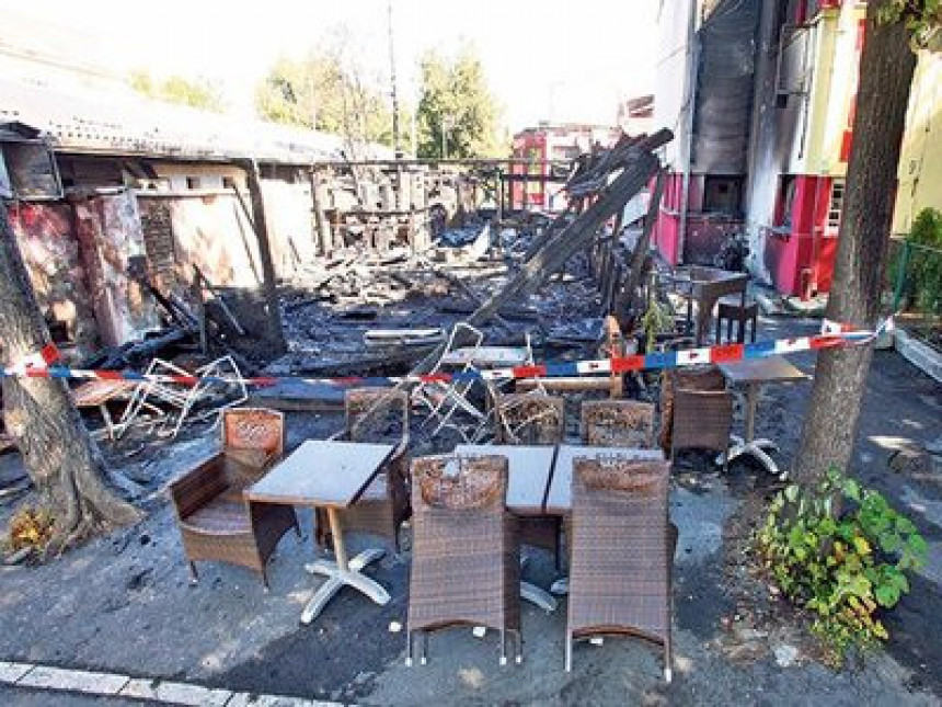 Zapaljen Krajišnikov restoran u Beogradu