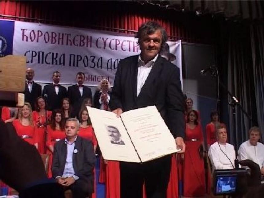 """Kusturica dobio književnu nagradu """"Svetozar Ćorović"""" (VIDEO)"""