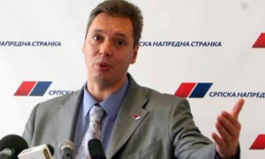Vučić:Jasno da SNS nije kriva što se čeka na vladu