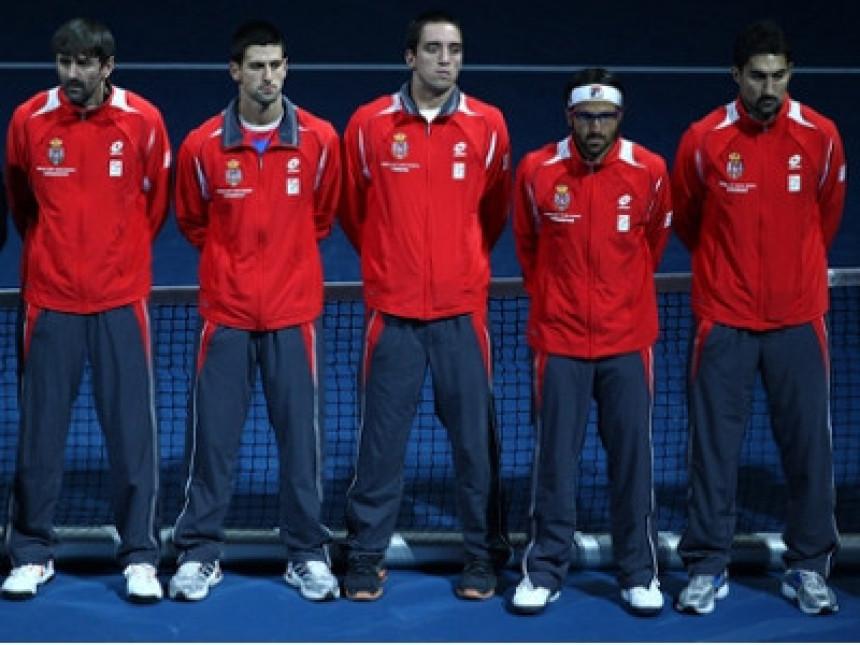 Srpski teniseri izabrali teren za finale