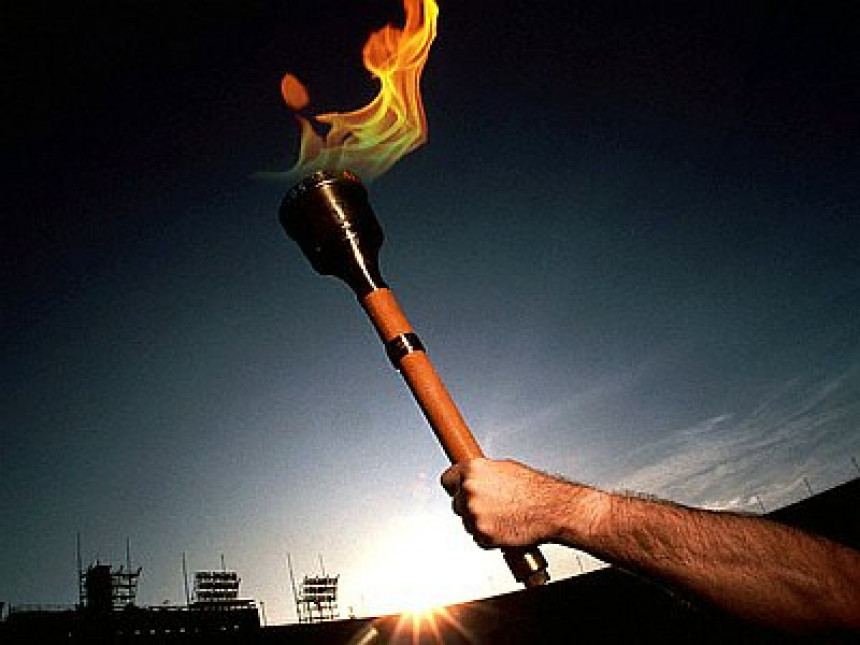 Olimpijska baklja lansirana u svemir