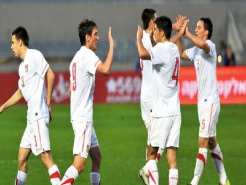 Pobjeda mlade reprezentacije Srbije