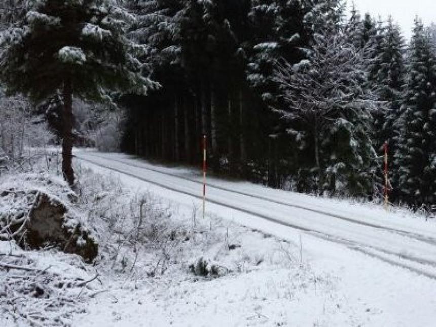 Snijeg u Austriji!