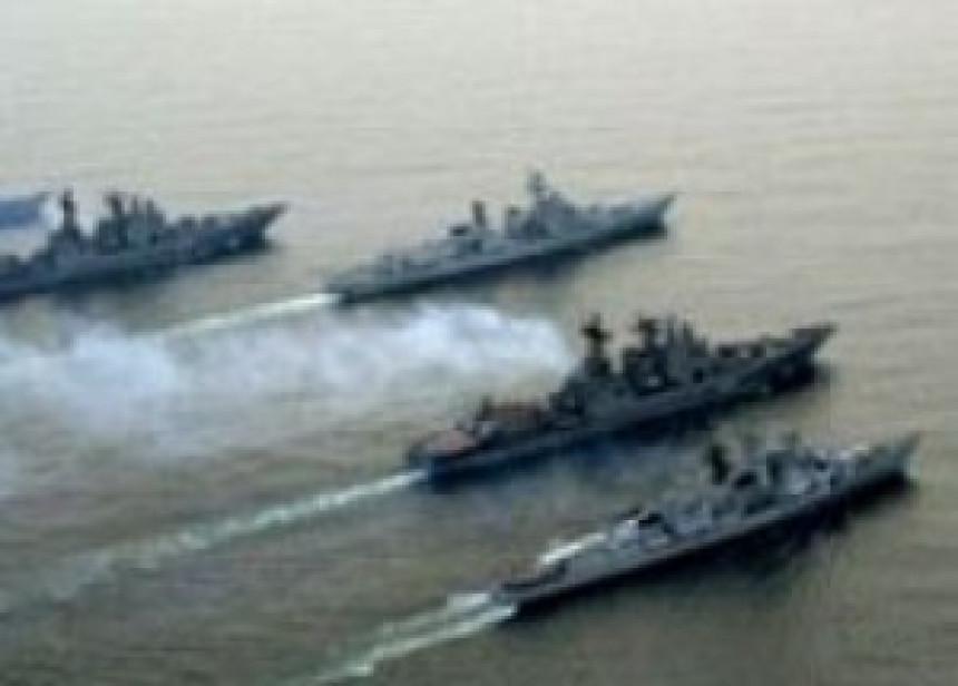 Ruski ratni brodovi na putu za Tartus