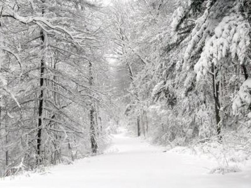 Od ponedjeljka - tri dana snijega!