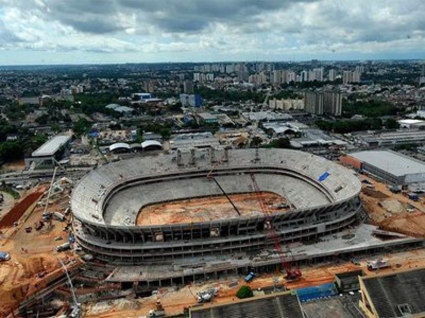 """Obustavljena gradnja stadiona """"Amazonija"""""""