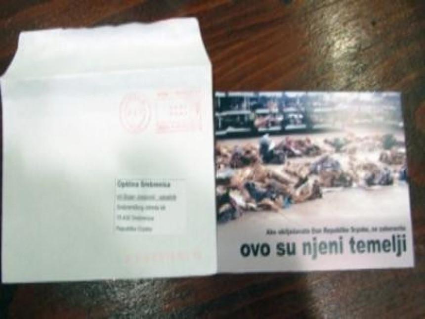 Morbidne čestitke Srbima u Srebrenici