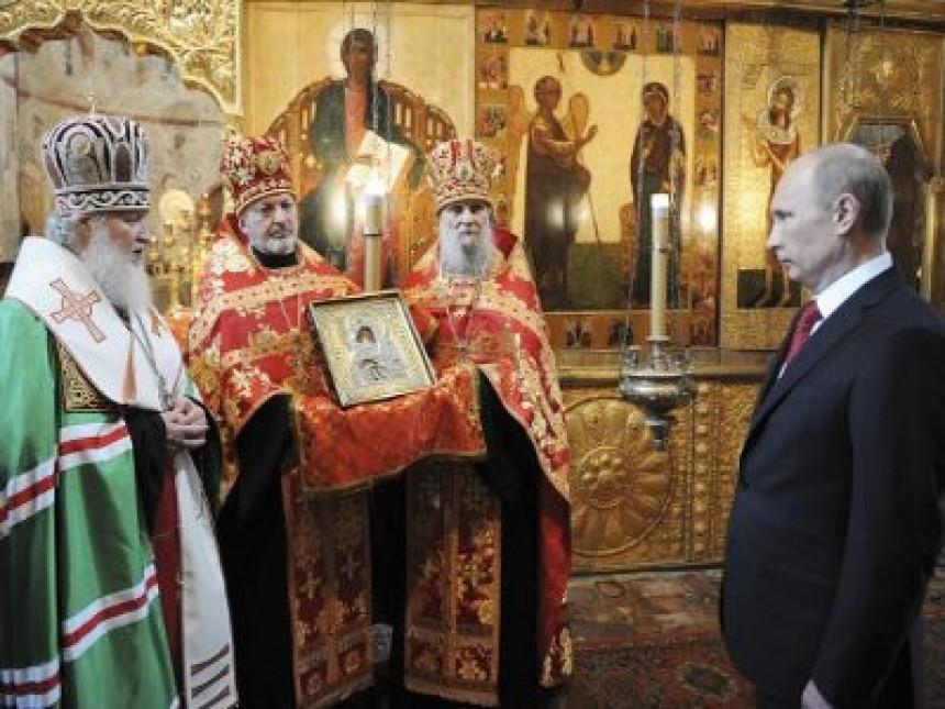 Putin na bogosluženju u Sočiju