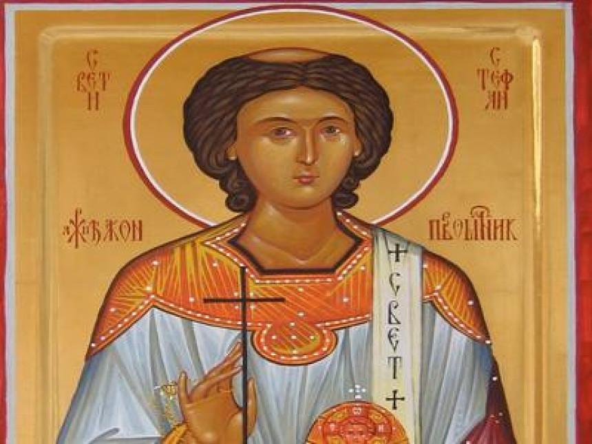 Danas je Sveti arhiđakon Stefan