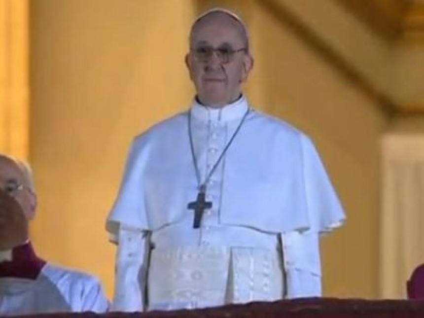 Papa Franjo najpopularniji na Guglu