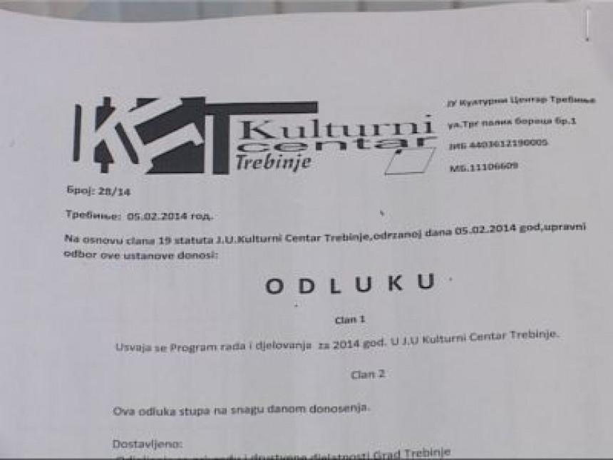 Trebinjski odbornici: Malo ćirilice, malo latinice (VIDEO)