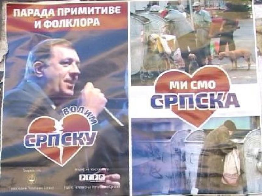 """Plakati """"Mi smo Srpska"""""""