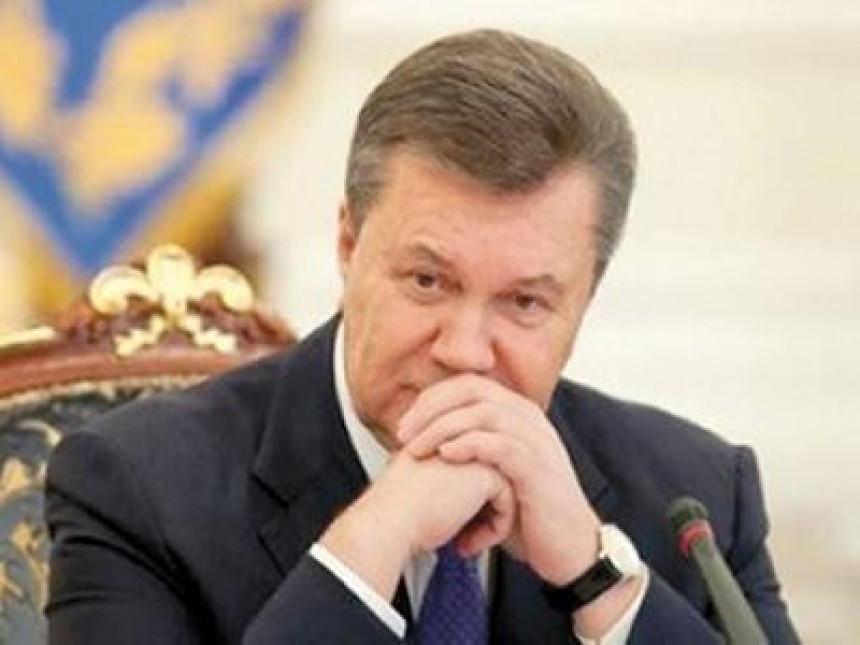 Janukovič se sutra obraća javnosti