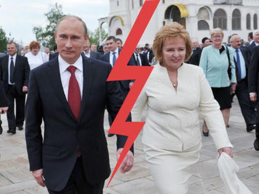 Kremlj potvrdio Putinov razvod