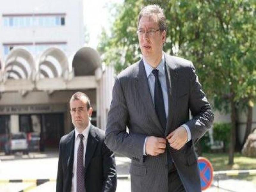 Danas sastanak Vučića i Tadića