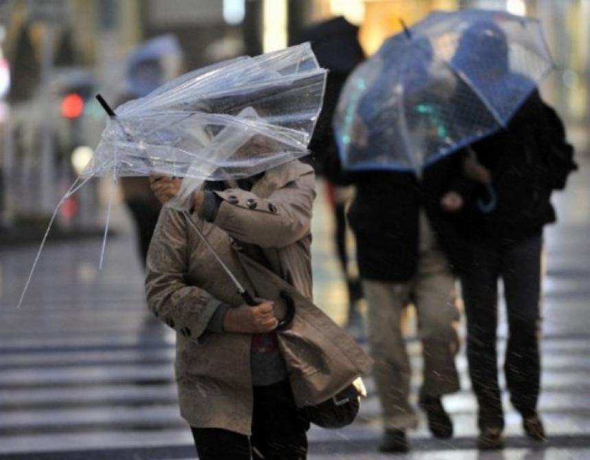 Sutra kiša, pljuskovi, moguće i nepogode