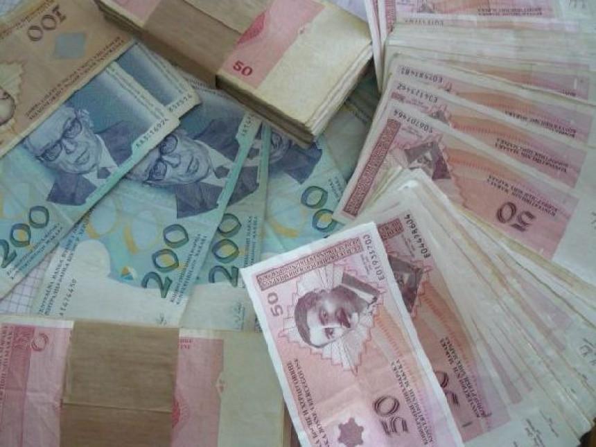 Prihodi od poreza 1,914 milijardi KM