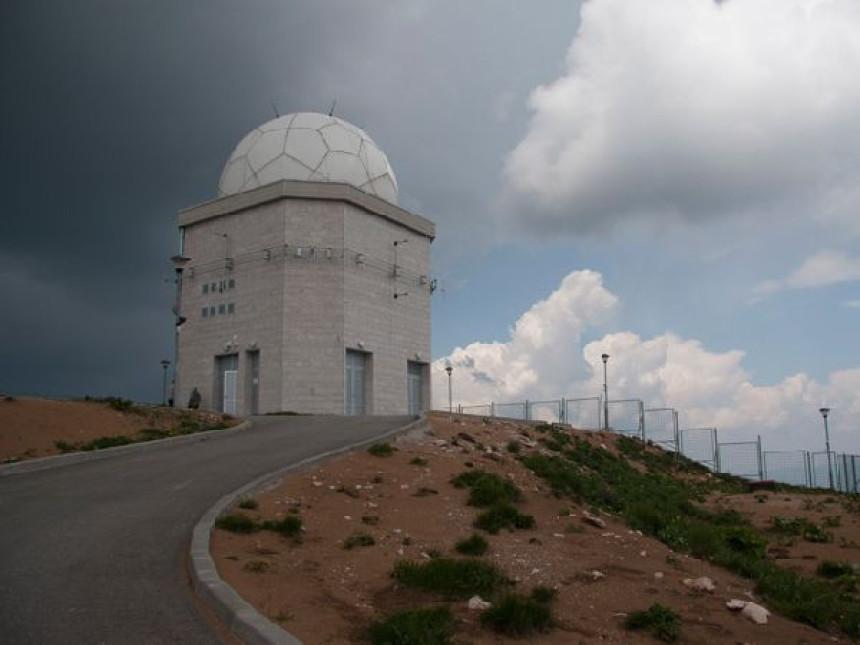 Radar na Jahorini za potrebe upravljanja vazdušnim saobraćajem