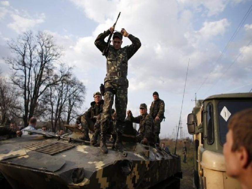 Minobacački napad na Slavjansk