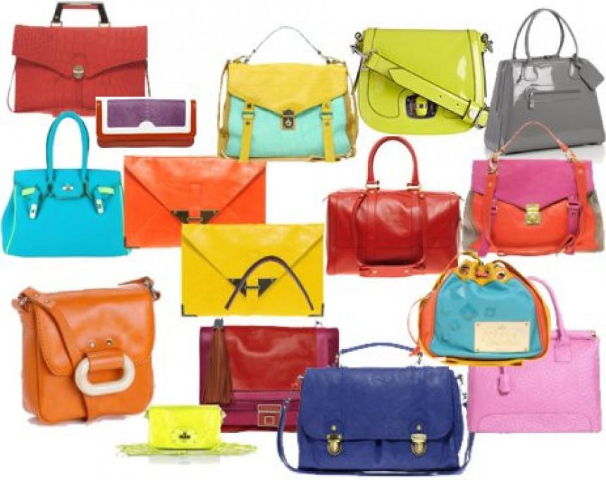 Kolor-blok torbe