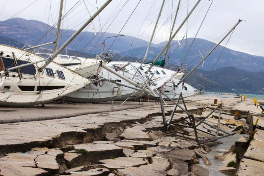 Zemljotres pogodio Grčku: Tresao se i jug Srbije