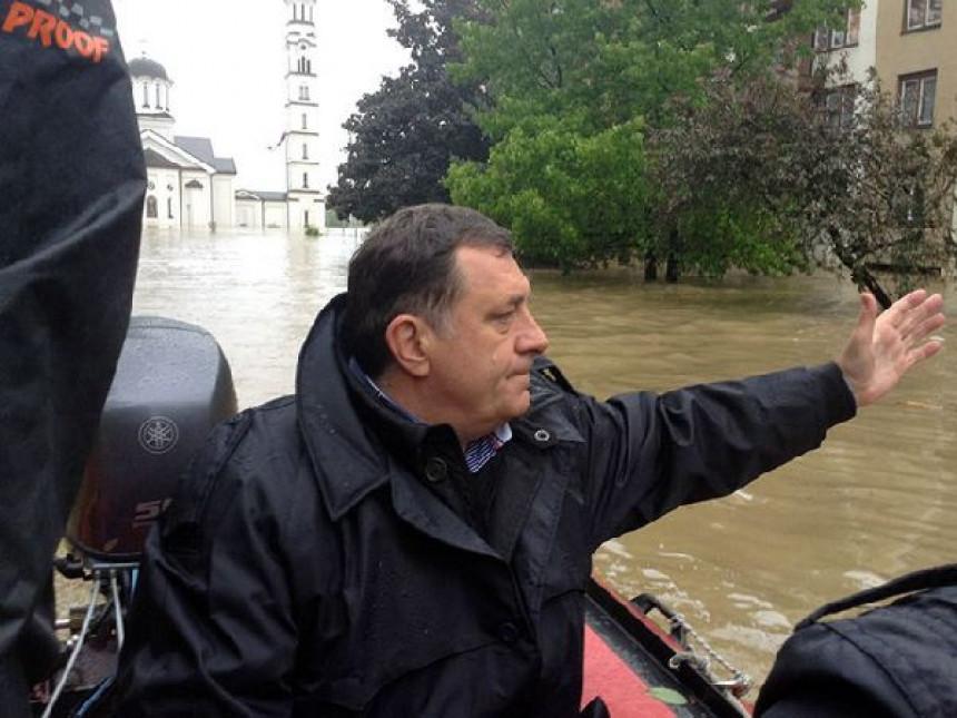 Poplave nisu odnijele entitetske granice